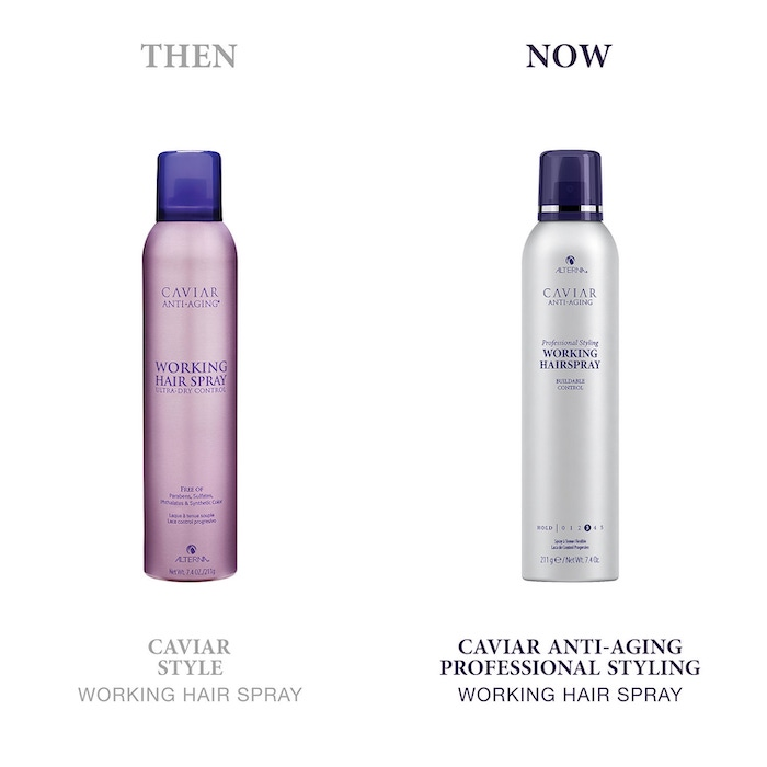 ALTERNA CAVIAR ANTI-AGING PROFESSIONAL STYLING WORKING HAIRSPRAY